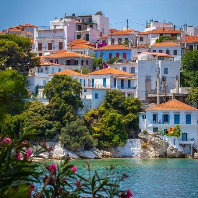 Greece...just like on Sisterhood of the Traveling Pants!