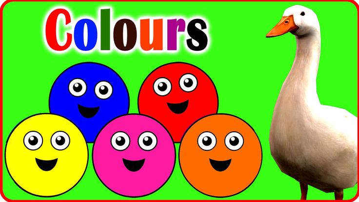 Let's Learn The colours! | Cartoon Animation colours Songs for Children ...