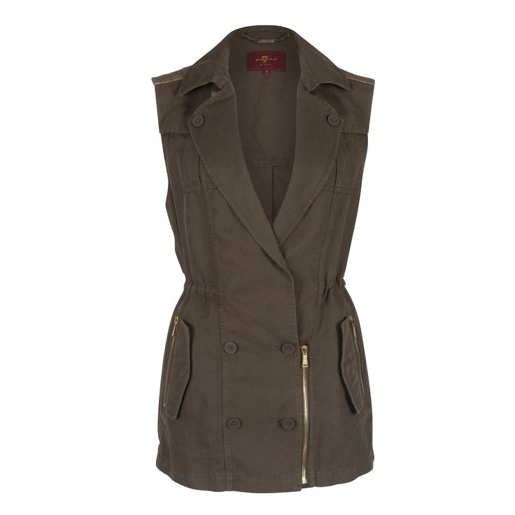 Jeans waistcoat from #7forallmankind