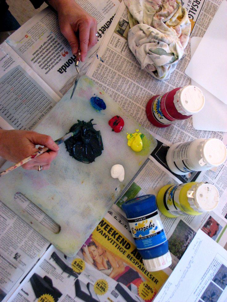 wepaint.dk kursus lærer dig at blande farver!