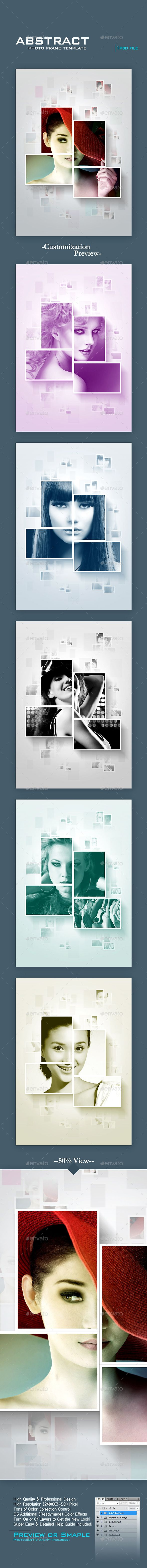 Abstract Photo Frame Template #design Download: http://graphicriver.net/item/abstract-photo-frame-template/11840731?ref=ksioks
