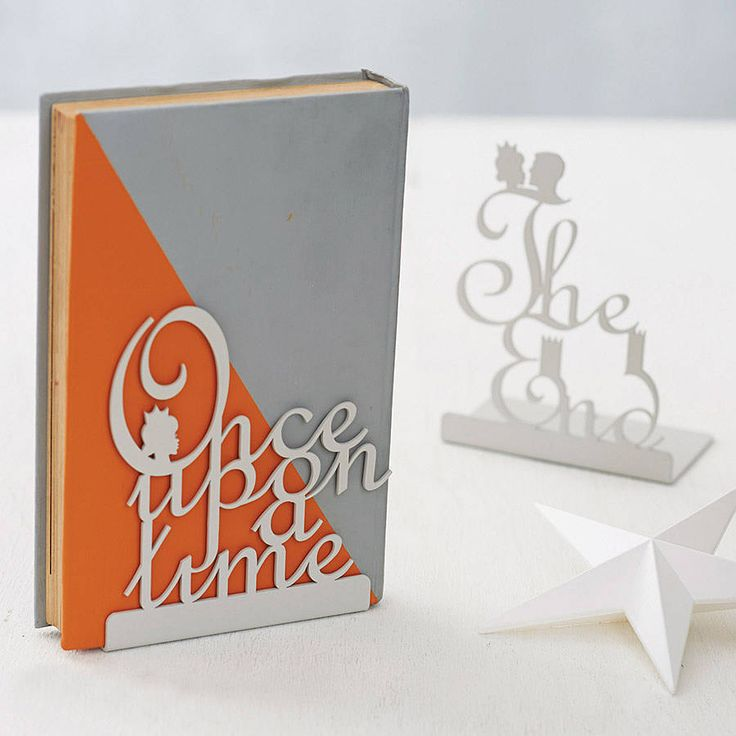pair of fairytale bookends by heather alstead design | notonthehighstreet.com