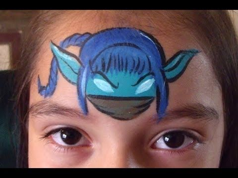 Skylander Face Paint