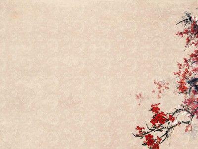 Plum blossoms flower templates