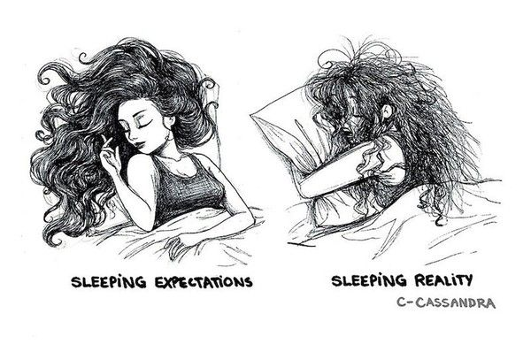 Romanian Artist Sketches Hilarious Everyday Problems Of Women & Nails It!