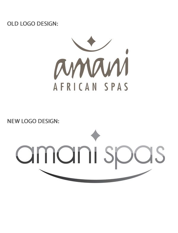 Amani Spas Logo Redesign