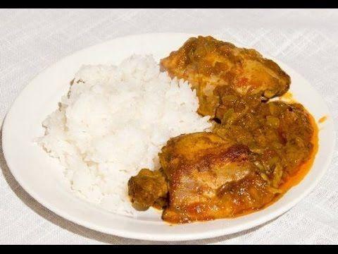 Индийский карри цыпленок с рисом  - Казан Мангал / Сталик Ханкишиев - YouTube