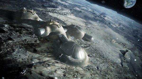 L'ESA vuole construire una base lunare, extraterrestri permettendo naturalmente