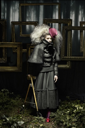 Gothic / photography by Eugenio Recuenco