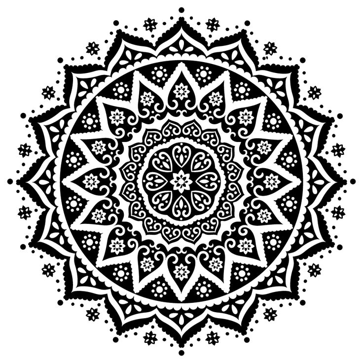 17 best ideas about indian prints on pinterest indian patterns arabesque and cool patterns - Black n white designs ...