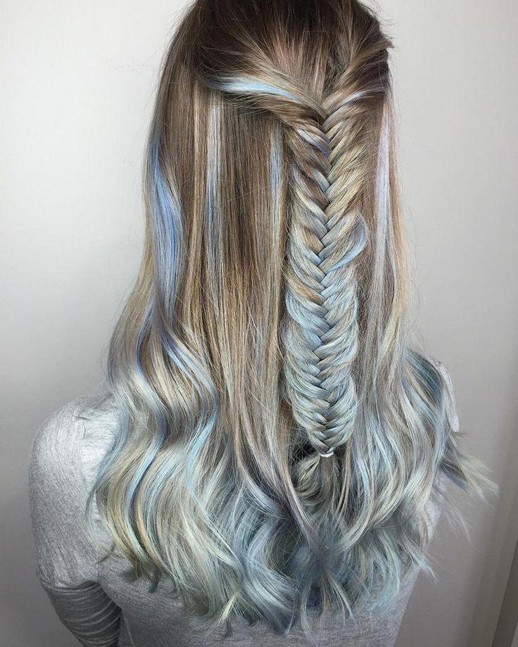 türkise haare färben tipps fasching eisprinzessin #hair #party #ideas