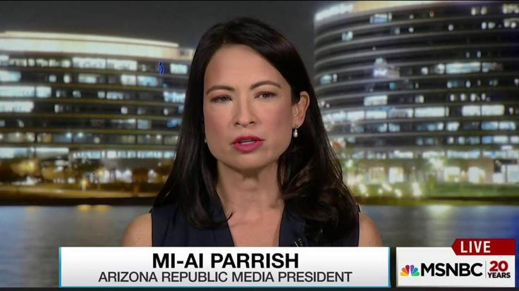 Mi-Ai Parrish, president of Arizona Republic Media, talks with Rachel Maddow about how staff at The Arizona Republic is handling death threats and harassment since the traditionally Republican newspaper endorsed Hillary Clinton for president.