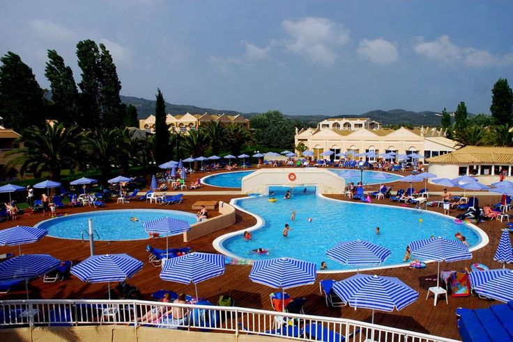 Vacante Vara 2013 - AQUIS SANDY BEACH 4* 7NP. Calatorie la Corfu, Saint George South, oferte Paravion