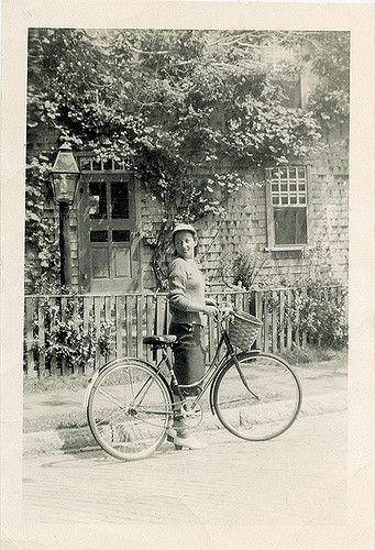Bike_30.jpg | Written on back: Aug. 1946 (How I love this ph… | Flickr