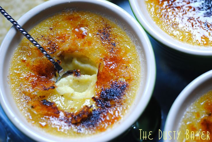 Coconut Milk Creme Brulee (easy, Spot-on, Dairy-free):  This creme brulee is dense, and just sweet enough, with the perfect little crunch.  Using vanilla bean gives it an incredible punch.  I've so missed creme brulee, and now I've been satiated.    Let me know if you make it, and who you share it wit