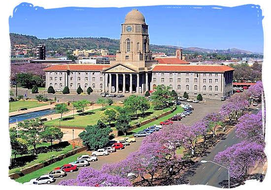 Pretoria City Hall, South Africa