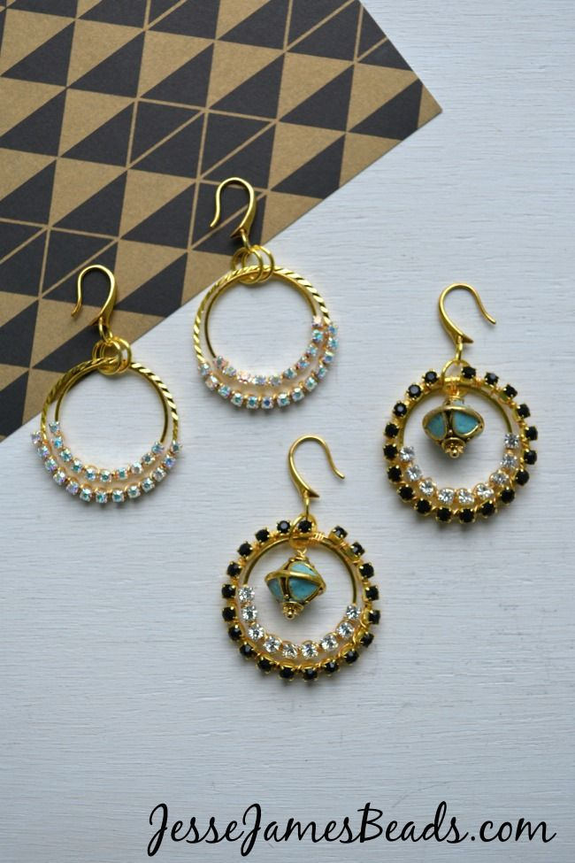 1095 Best Images About Beading Earrings On Pinterest