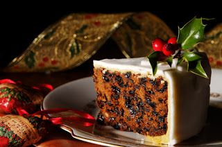 Cuochi per caso...o per forza!!: Torta di Natale - Christmas Cake