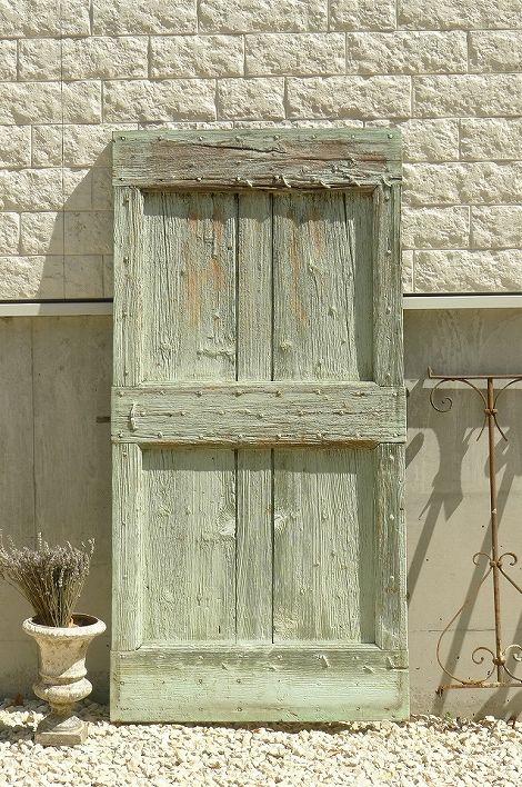 アンティーク プロヴァンスドア(ミントグリーン) French Antique Provencal Door