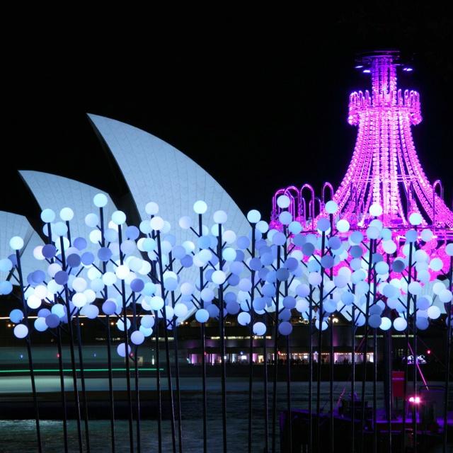 Sydney opera house - Vivid light show