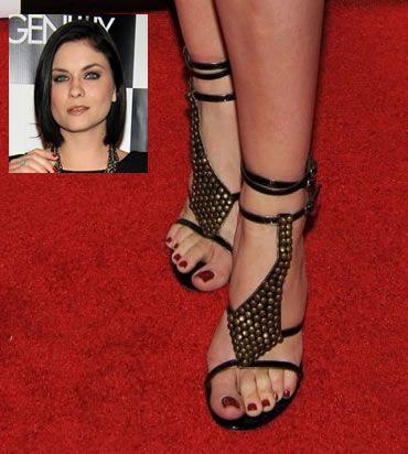 Jodi Lyn OKeefes Feet
