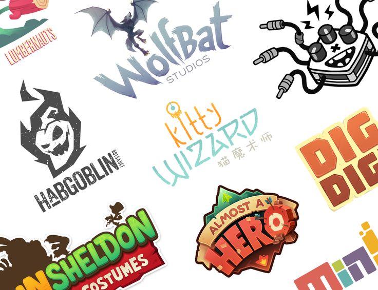 다음 @Behance 프로젝트 확인: \u201cLogos video games + others\u201d https://www.behance.net/gallery/52596329/Logos-video-games-others