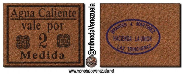 Ficha Hacienda La Unión (Agua Caliente y Palmarito) Las Trincheras. Edo. Carabobo