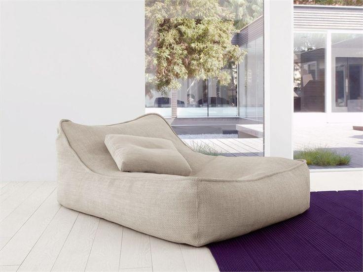 Chaise longue Colección Float by Paola Lenti   diseño Francesco Rota