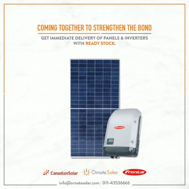 Combination That Will Give You A Higher Generation To Book Your Stock Call Us At 011 43536666 Or Mail Us At Info Ornatesol In 2020 Solar Solar Panels Solar Solutions