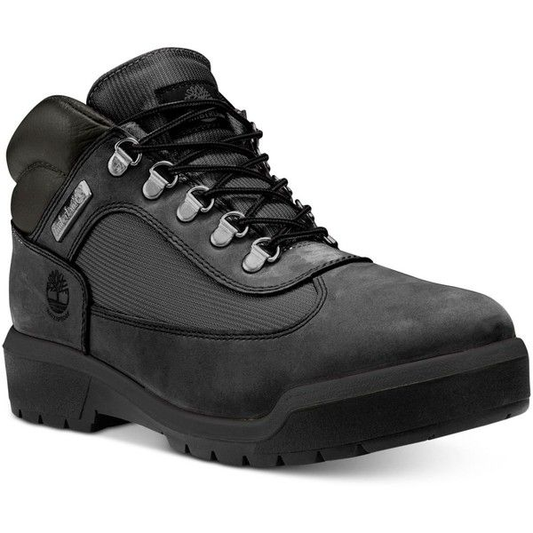 Timberland Men's Waterproof Field Boots (520 BRL) ❤ liked on Polyvore featuring men's fashion, men's shoes, men's boots, men's work boots, black, mens waterproof boots, mens waterproof work boots, mens black boots, timberland mens boots and mens boots