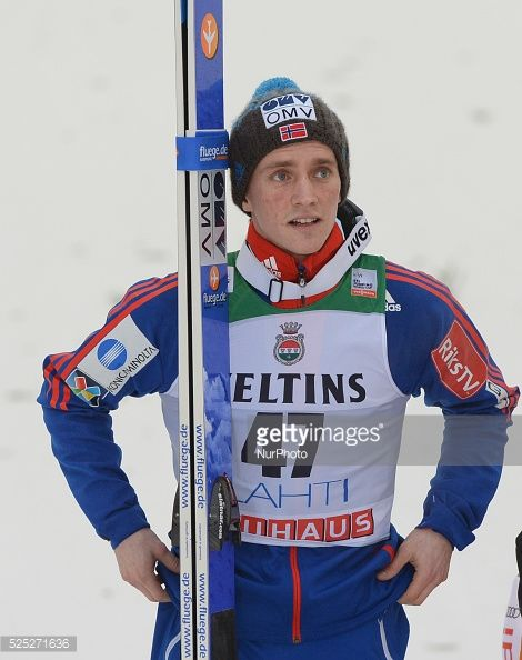 Anders Fannemel from Norway after his jump in Large Hill Individual competition at Lahti FIS Ski World Cup Lahti Finland Sunday 8 March 2015 Photo by...