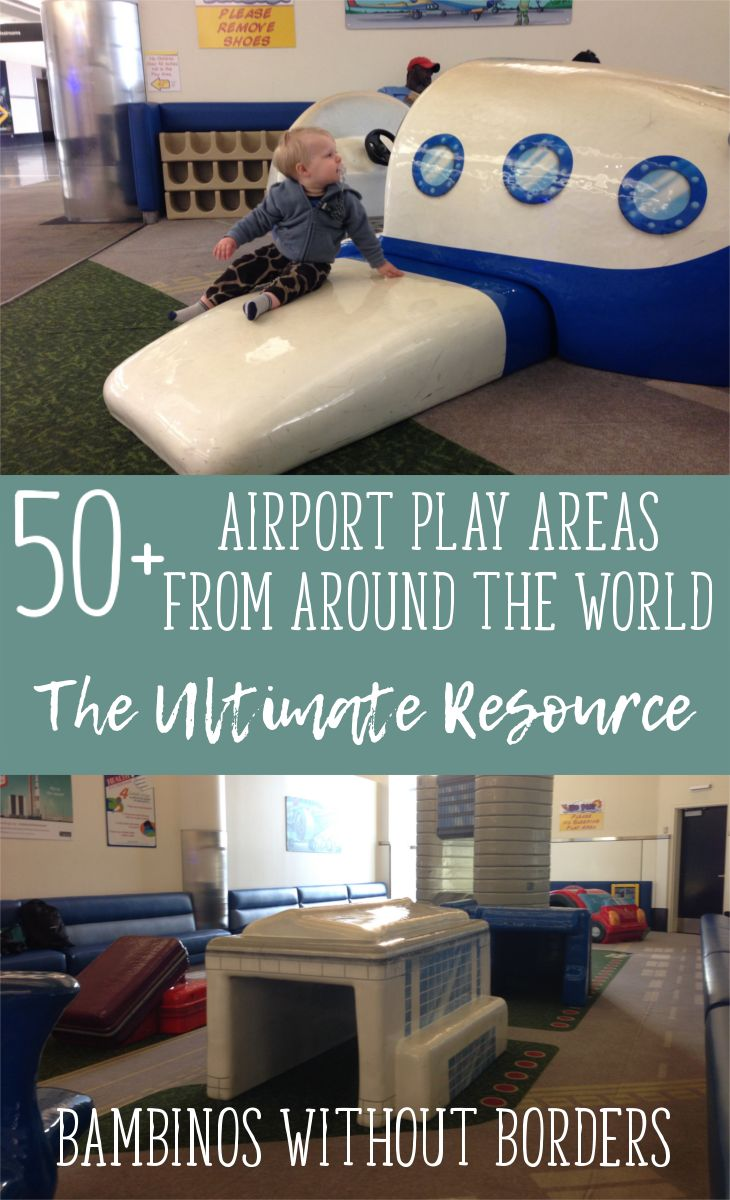 Have a trip coming up with the little ones? The airport play area can be a LIFE SAVER while you're traveling with the kids. Know before you go with this ULTIMATE RESOURCE of airport play areas and playground from around the world! Over 50 and growing!