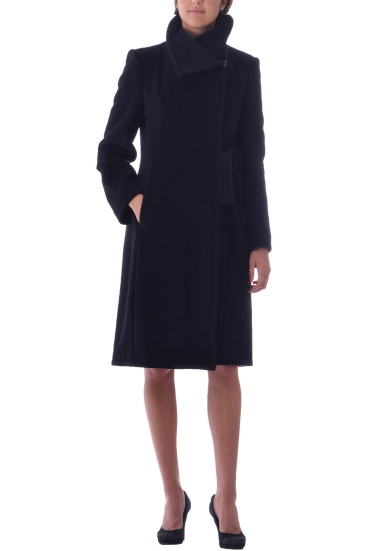 ARMANI WOMAN WINTER COAT -COAT IN WOOL AND CASHMERE