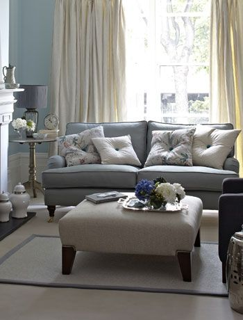 Vintage Splendor : Choose A Palette Of Soft Egg Shell Blue, Pale Grey And  Creams. Cream Living RoomsDuck Egg Blue Living RoomGeorgian ... Part 83