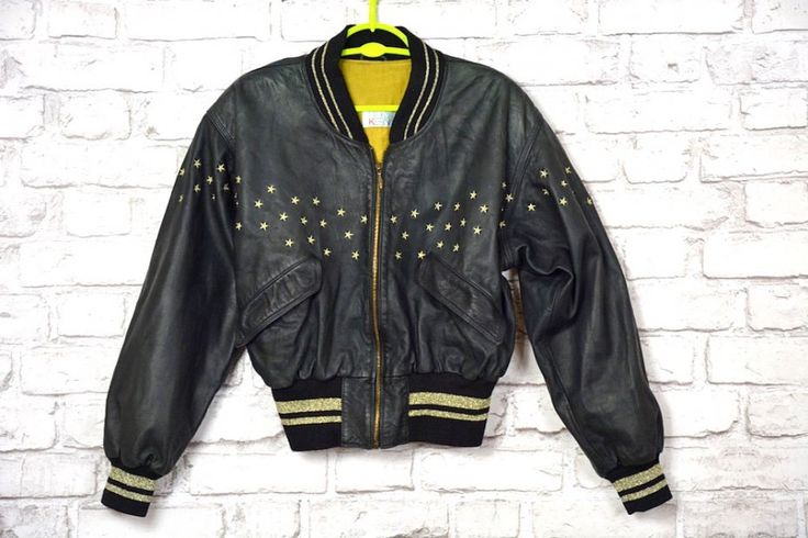 Vintage 80s Otto Kern Lether jacket by SweetSpicyVintage on Etsy