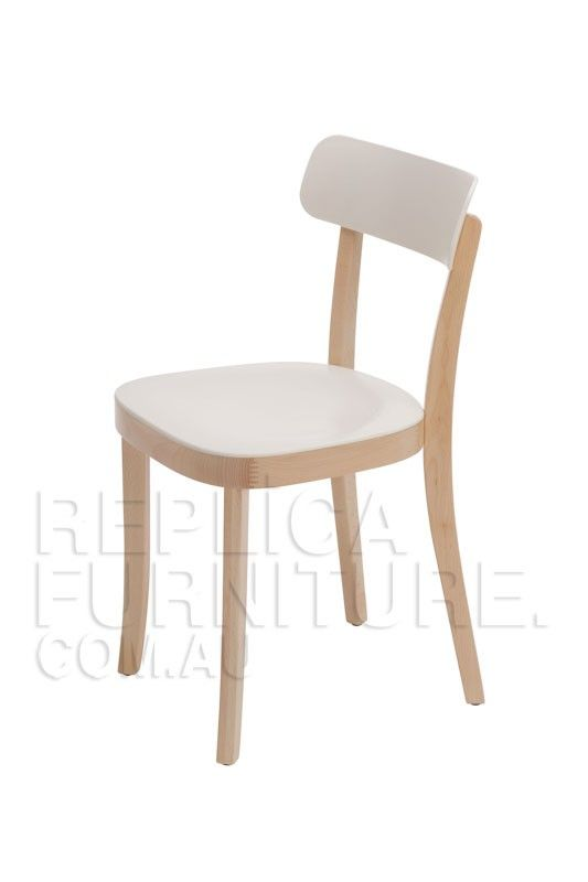 Jasper Morrison Basel Chair Replica - Cream Natural Beech