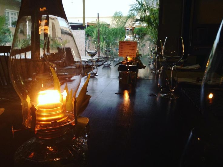 At the The Stable Long Table dinner #greatfood #3course #longtable #chef #ambience