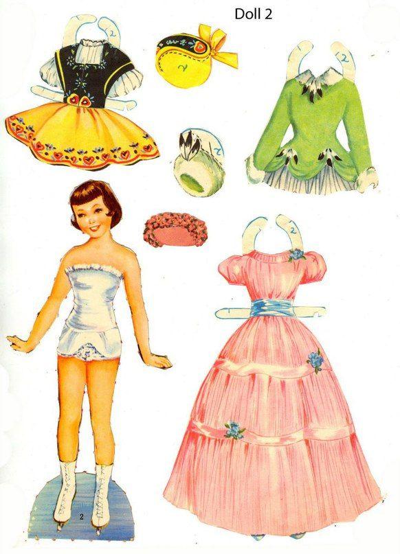Паперові ляльки Бумажные куклы  Paper Dolls s photos  cbb9900ee546f