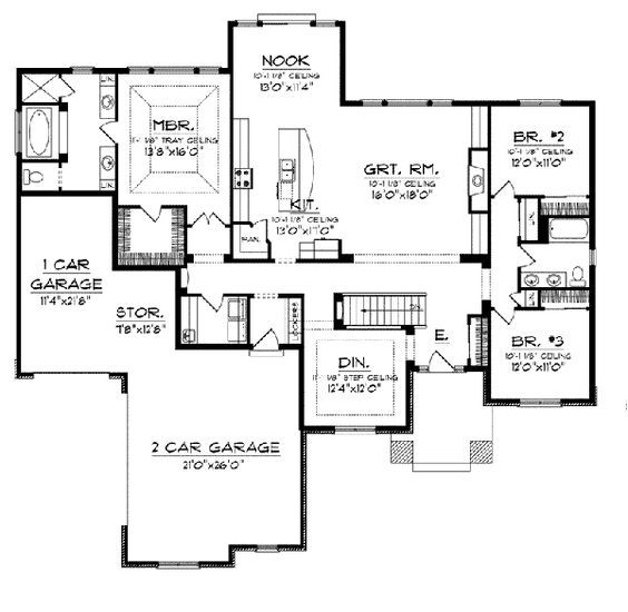 1000 ideas about prairie style homes on pinterest for Modern prairie house plans