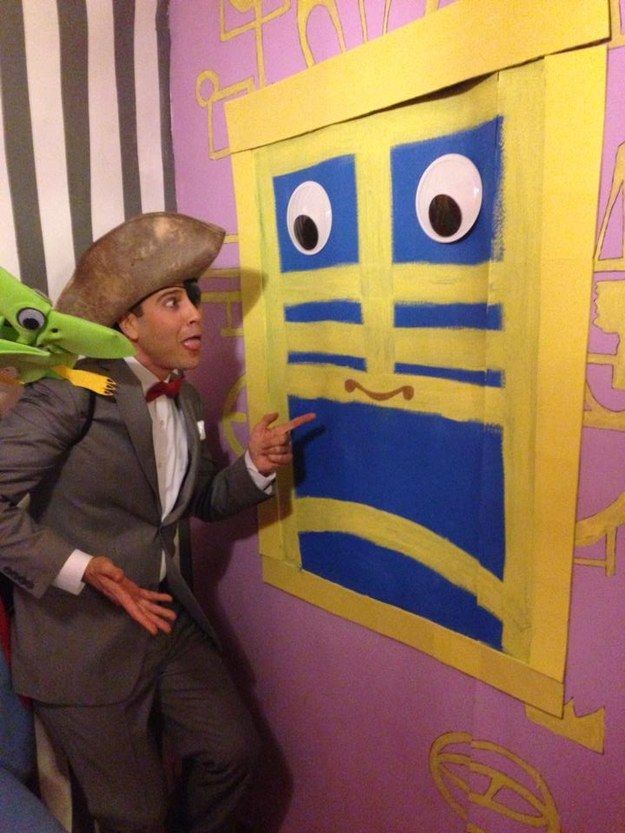 These Guys Built Pee-Wee's Playhouse For A Halloween Party