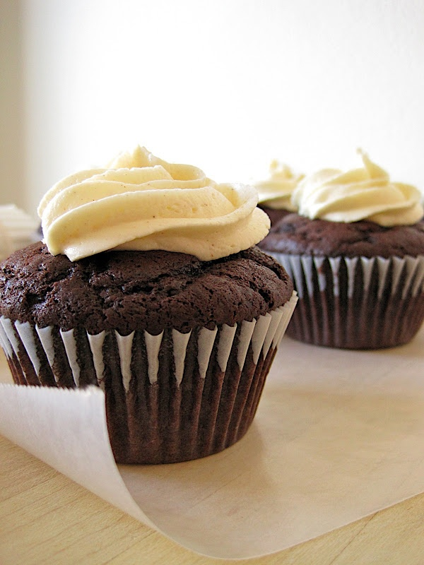 Secret Ingredient moist chocolate cupcakes - the only one I make! (also works at high elevation)