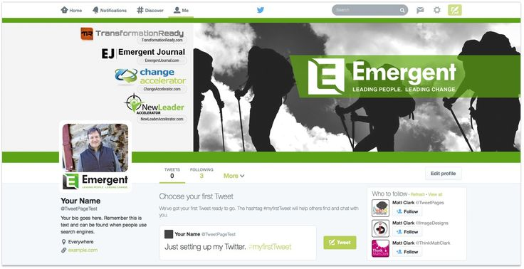 Emergent Custom Facebook Cover Design - by TweetPages.com #TweetPages
