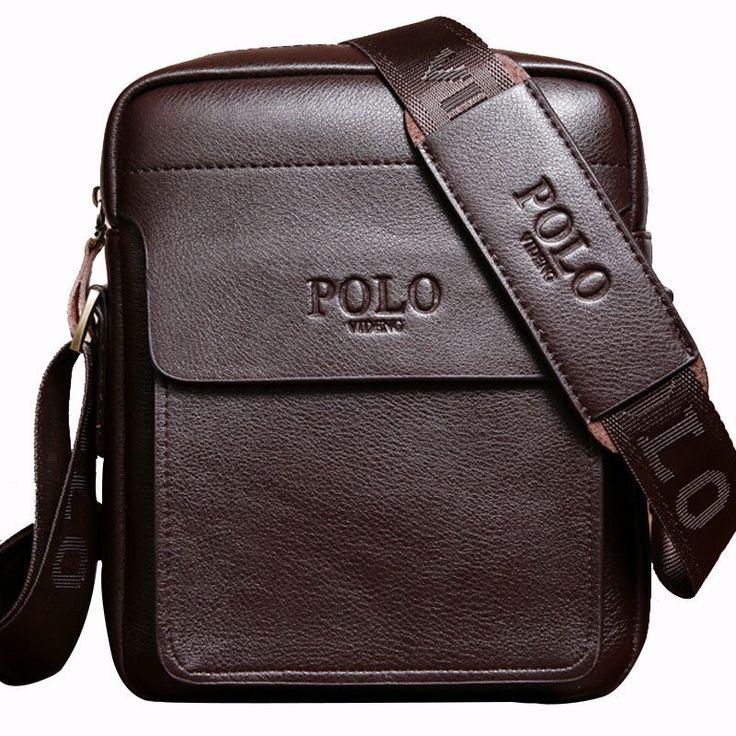 Men Designer Bag Fashion Leather Bag Briefcase Business Shoulder Crossbody Messenger Bag