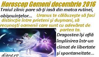diane.ro: Horoscop decembrie 2016 - Gemeni