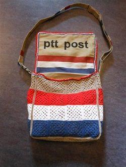 Gehaakte PTT tas