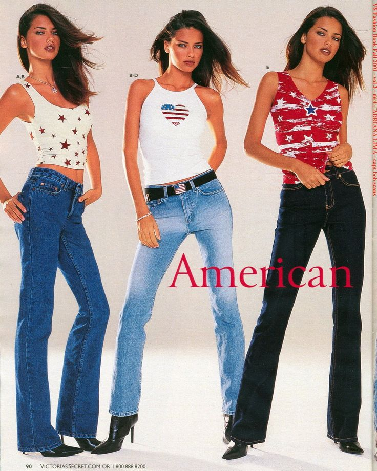Modeling the latest and greatest trends....year 2000.