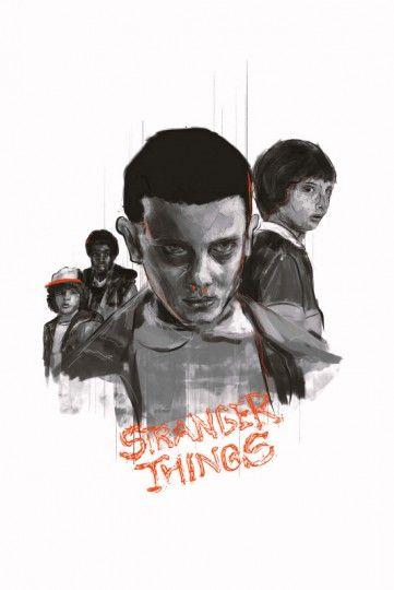 Stranger Things - plakat premium