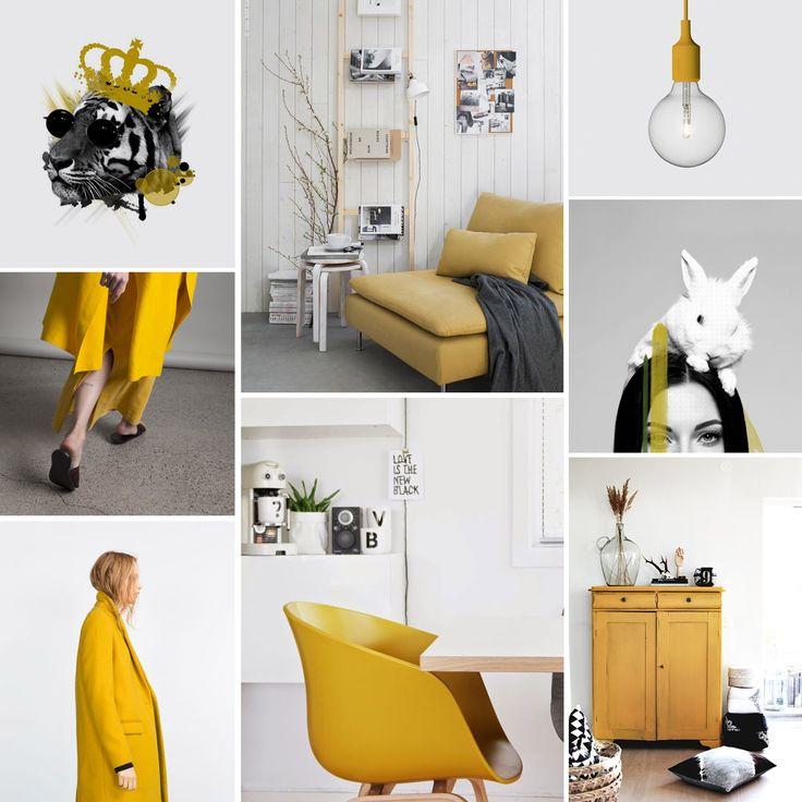 Yellow mood./ #moodboard