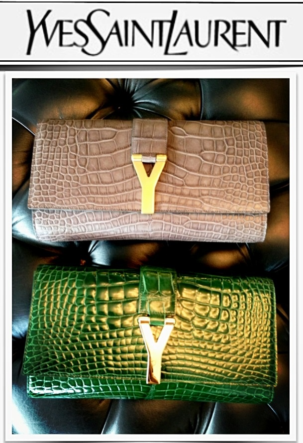The YSL Clutch bag is available @ COSMOPOLITAN SHOES Double Bay ...