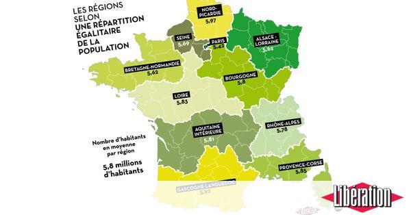 Le Premier ministre Manuel Valls veut diviser par deux le nombre de régions. «Libération» propose 7 cartes de France différentes, selon des critères géographiques, économiques, culturels ou... alimentaires.